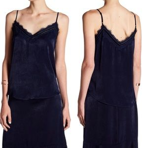 NWT Abound velvet and Lace cami sz medium